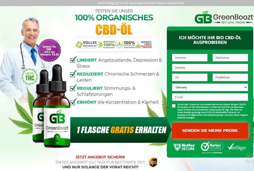 GreenBoozt CBD Germany
