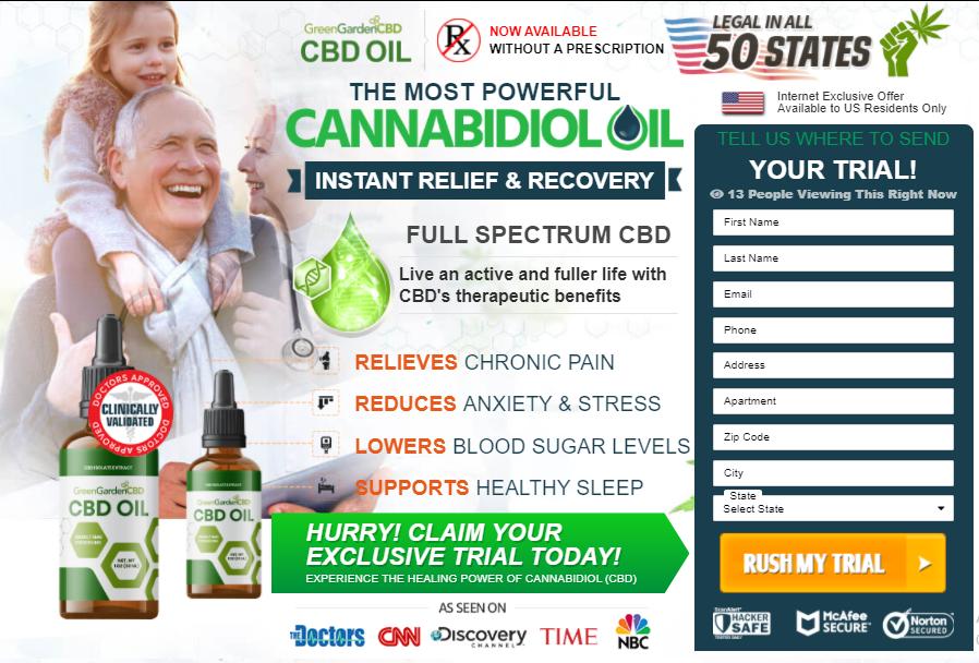 Green Garden CBD Oil Canada