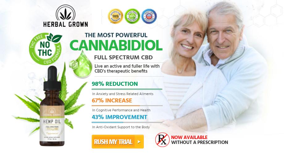 Herbal Grown CBD Oil 3