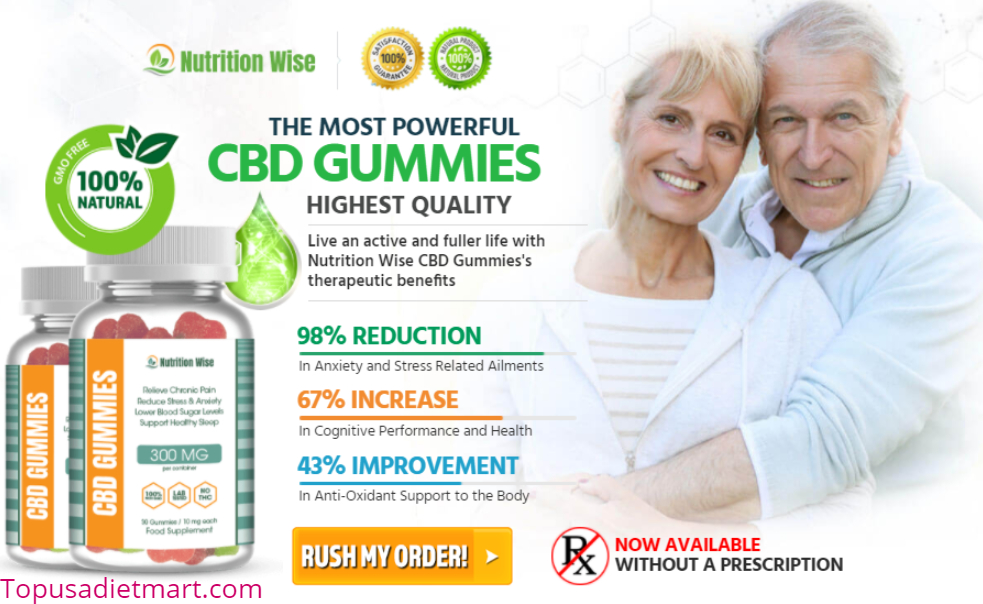 Nutriwise CBD Gummies United Kingdom 1